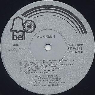 Al Green / S.T. label