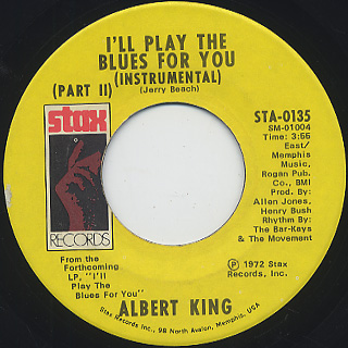 Albert King / I'll Play The Blues For You (7