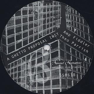 Amp Fiddler,John Douglas, Kitten Kuroi, Theo Parrish / Gentrified Love Part 1 label