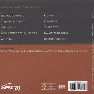 Arthur Verocai / No Voo Do Urubu back