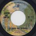 Ashford and Simpson / (I'd Know You) Anywhere