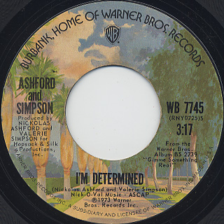 Ashford and Simpson / (I'd Know You) Anywhere back