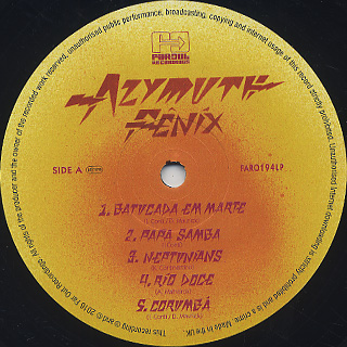 Azymuth / Fenix label