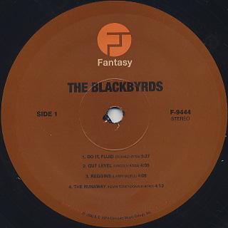 Blackbyrds / S.T. label