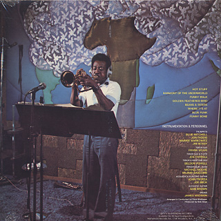 Blue Mitchell / The Many Shades Of Blue back