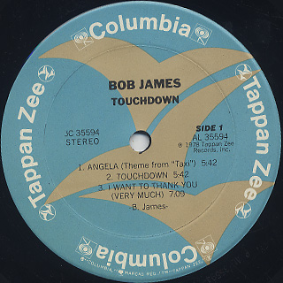 Bob James / Touchdown label