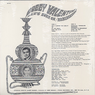 Bobby Valentin / Let's Turn On-Arrebatarnos back