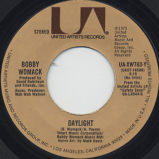 Bobby Womack / Daylight