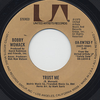 Bobby Womack / Daylight back