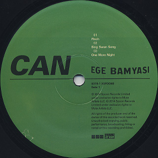 Can / Ege Bamyasi label