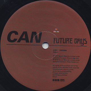 Can / Future Days label
