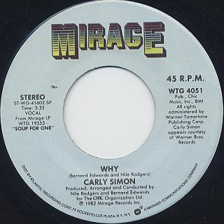 Carly Simon / Why (7