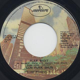 Con Funk Shun / Too Tight c/w Play Widit back