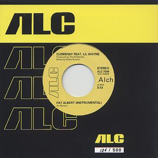 Curren$y Feat. Lil Wayne / Fat Albert (prod. Alchemist) back
