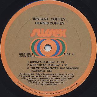 Dennis Coffey / Instant Coffey label