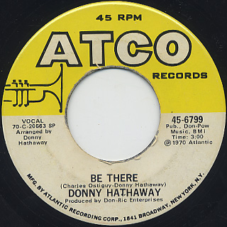Donny Hathaway / This Christmas (VG+) back