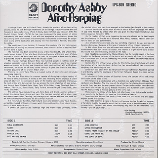 Dorothy Ashby / Afro-Harping back