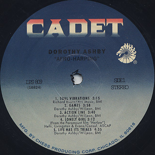 Dorothy Ashby / Afro-Harping label