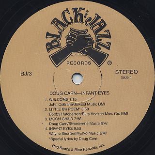 Doug Carn / Infant Eyes label