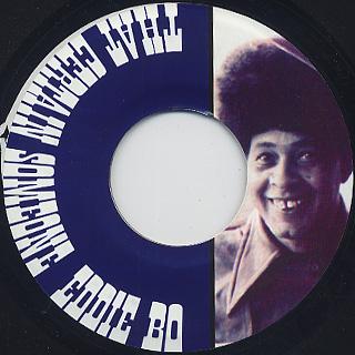 Eddie Bo / Funky Jam c/w That Certain Someone back