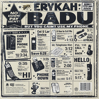 Erykah Badu / But You Caint Use My Phone back
