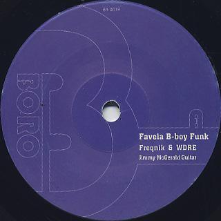 Freqnik & WDRE / Favela B-Boy Funk