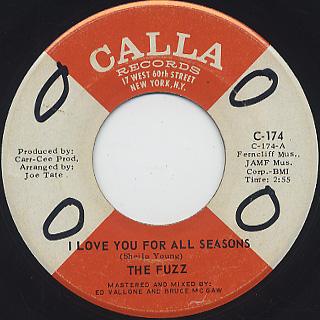 Fuzz / I Love You For All Seasons c/w (Instrumental)