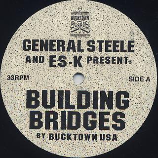 General Steele / Building Bridges label