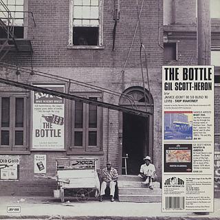 Gil Scott-Heron / Skip Mahoney / The Bottle c/w Janice back