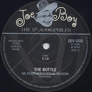 Gil Scott-Heron / Skip Mahoney / The Bottle c/w Janice label