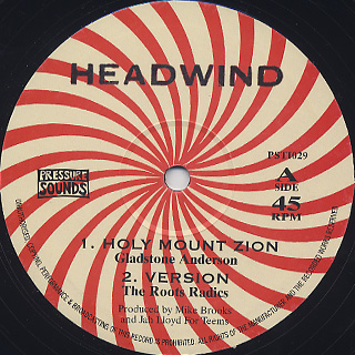 Gladstone Anderson & The Roots Radics / Mike Brooks & The Roots Radics / Holy Mount Zion / Love is Like a Password back