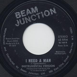 Grace Jones / I Need A Man back