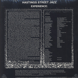Hastings St. Jazz Experience / Detroit Jazz Composers ltd. back