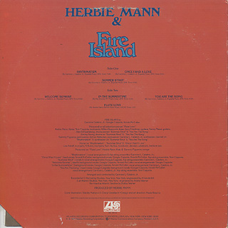 Herbie Mann & Fire Island / S.T. back