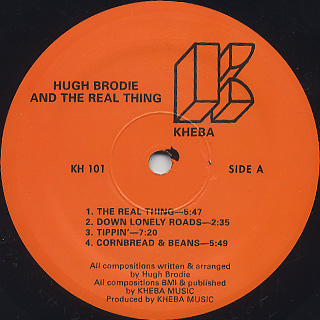 Hugh Brodie and The Real Thing / S.T. label
