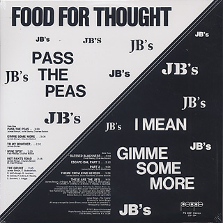 JB's / Food For Thought back