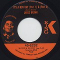 James Brown / It's A New Day c/w Georgia On My Mind