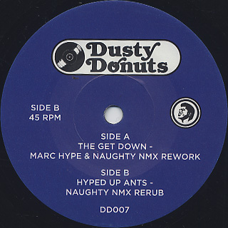 James Brown / The Get Down(Marc Hype & Naughty NMX Rework) back