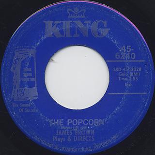 James Brown / The Popcorn c/w The Chicken (VG+)
