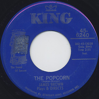 James Brown / The Popcorn c/w The Chicken