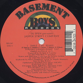 Jasper Street Company / Smile label