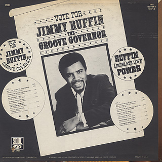 Jimmy Ruffin / The Groove Governor back