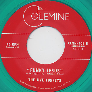 Jive Turkeys / Get Down Santa c/w Funky Jesus back