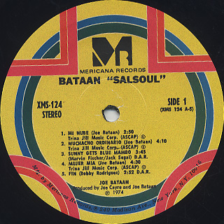 Joe Bataan / Salsoul label