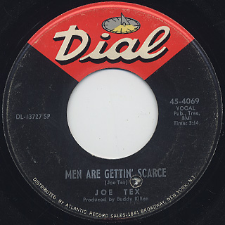Joe Tex / Men Are Gettin' Scarce