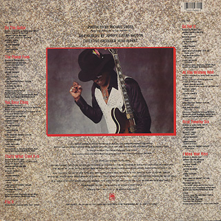 Johnny Guitar Watson / That's What Time It Is back