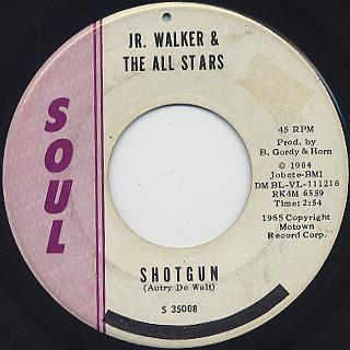 Jr. Walker & The All Stars / Shotgun
