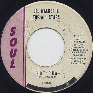 Jr. Walker & The All Stars / Shotgun back