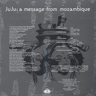 Ju Ju / A Message From Mozambique back