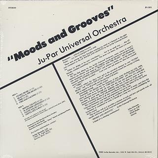 Ju-Par Universal Orchestra / Moods and Grooves back